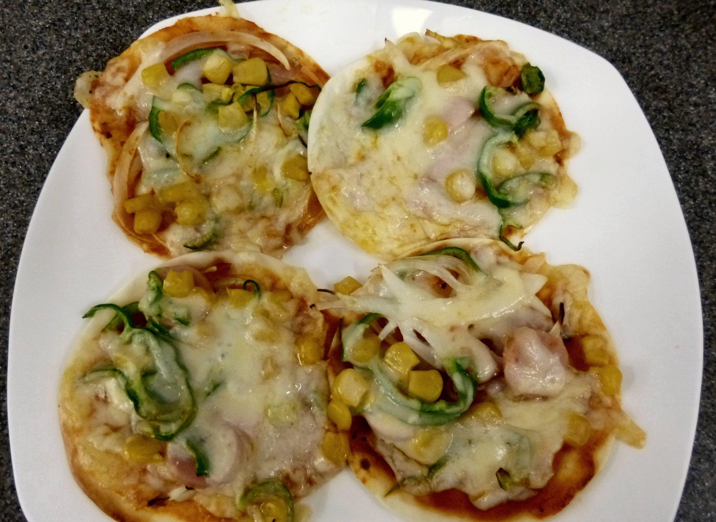 9月4日おやつ作り『ミニピザ』③