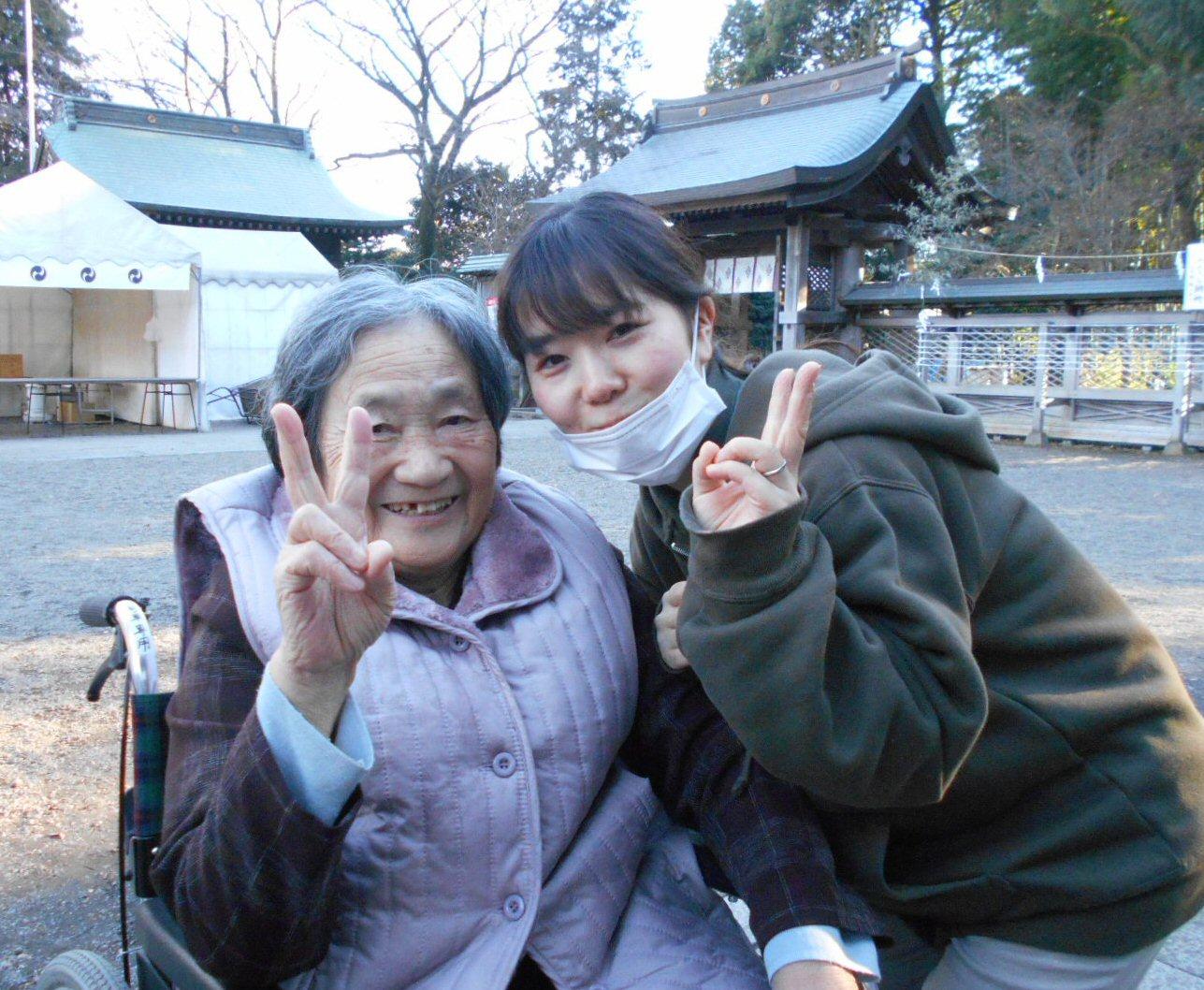 11日 須賀神社へ初詣②